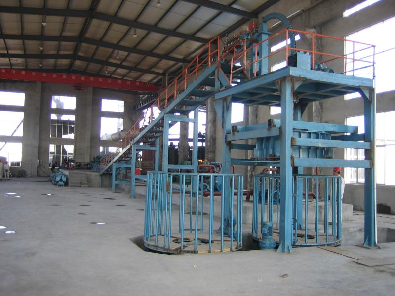 copper rod continuous casting and rolling